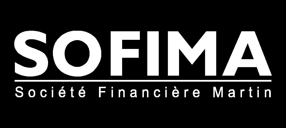 logo sofima blanc Société Financière Martin route de gien Sully sur loire